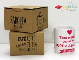 Taza personalizada 'Super Abuela'