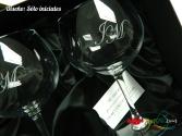 Pack copas de balón Gin-Tonic grabadas a láser
