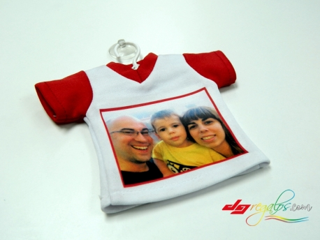 Mini Camiseta con percha