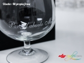 Copa Brandy de balón Grabada a láser