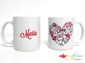 Taza personalizada para 'San Valentín'