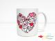 Taza personalizada San Valentín
