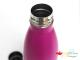 Botella de acero inoxidable personalizada con grabado a láser